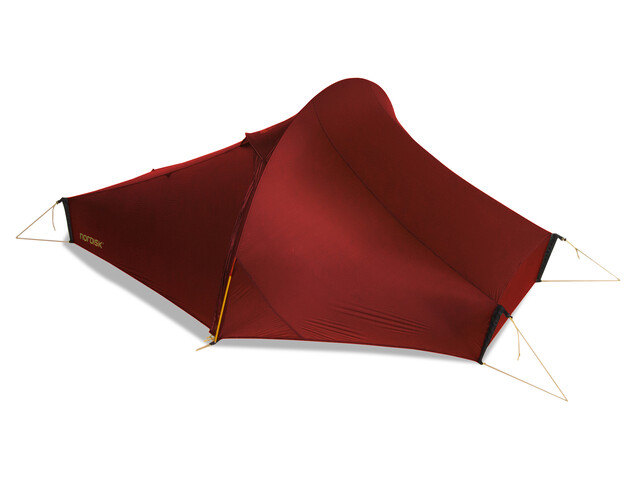 Nordisk Telemark 1 Ultra Light Weigt Tent burnt red
